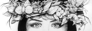 Inktober Crown by Juhani