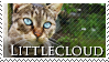 Littlecloud Stamp by VampsStock