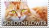 Goldenflower Stamp by VampsStock