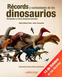 Records de los dinosaurios teropodos - portada by Asier-Larramendi