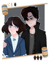 Fan art - Heathers / Our Love is God by MinEevee