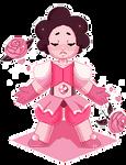 Pixel Art - Steven Universe as Pink Diamond [F2U] by MinEevee