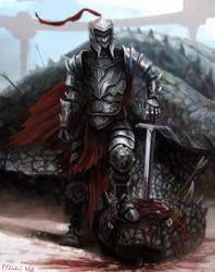 Giant Snake Slayer - Photoshop Study by patsober