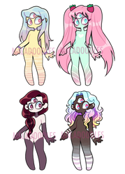 Thirdeye cutie Adopts (CLOSED) by Lovewhile