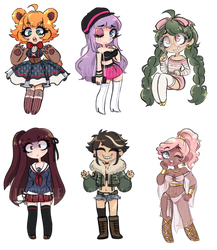 Scribbly Adopts (CLOSED) by Lovewhile