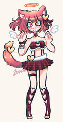 Custom - Valentines Kitty by Lovewhile