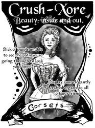 Body Image Project: Corsets by Sushichoc