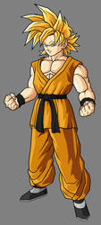 Teen Goten SSJ by hsvhrt