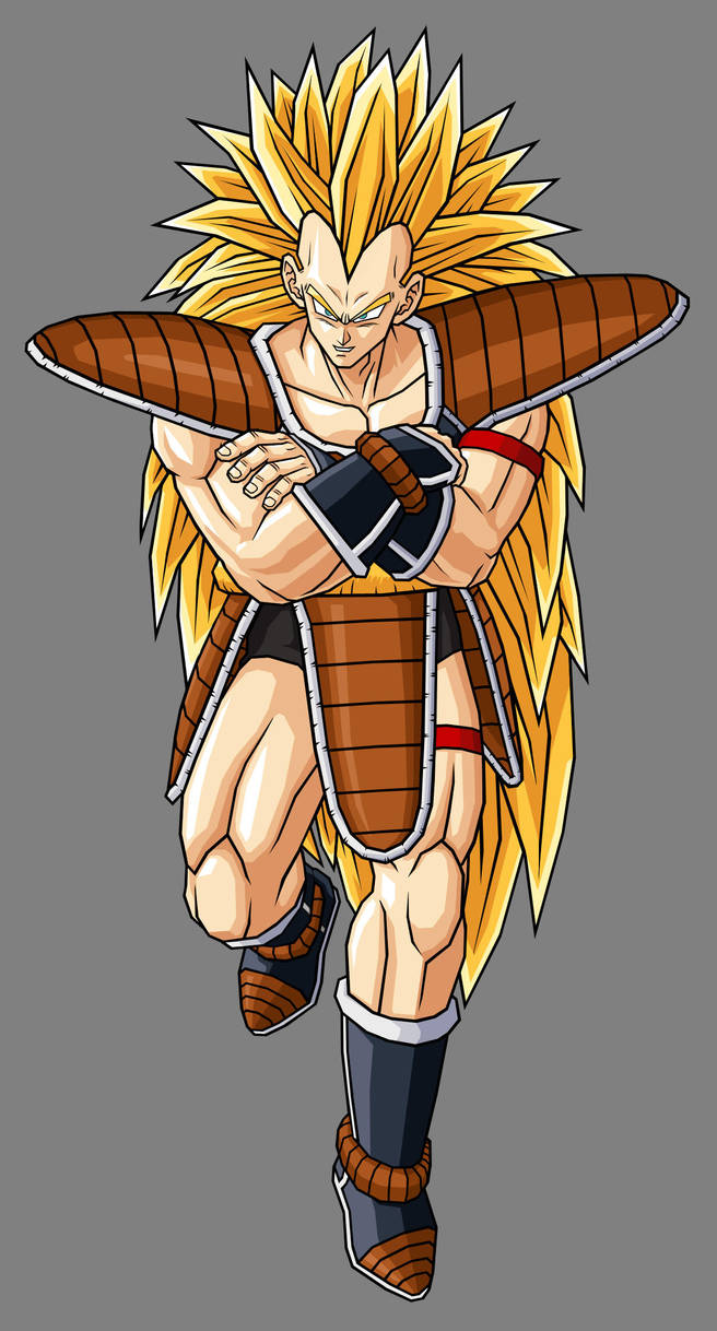 Raditz Ssj By Hsvhrt On Deviantart