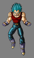 Vegeta SSJ Blue GT by hsvhrt