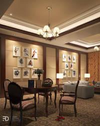 Living Room Hotel by Fdjohan19