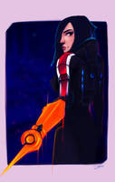 Commander Eveline Fury: Happy N7 day by Shaya-Fury