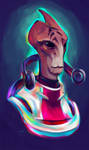 Neon Mordin... Had to be him by Shaya-Fury