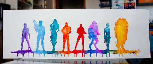Band of Andromeda Brothers and Sisters by Shaya-Fury
