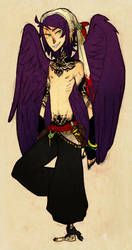 .draven the raven. by SteamDog