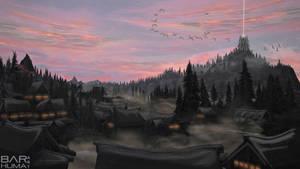 SKYRIM Series: Morthral by Bar-Huma
