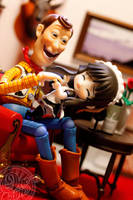 The Woody and the Maid by theonecam