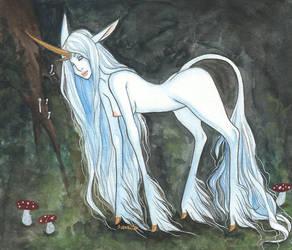 The Unicorn by Anoki-Doll
