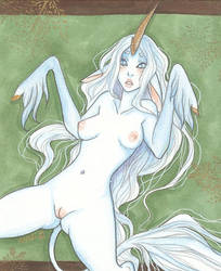 Vulnerable Unicorn by Anoki-Doll