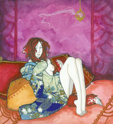 Coy Bride by Anoki-Doll