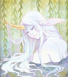 Bathing by Anoki-Doll