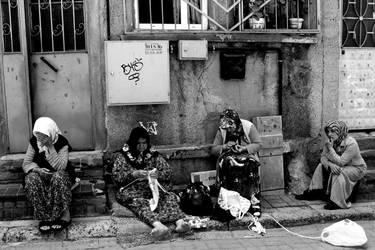Women in the Jewish District by mrlimmer