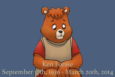 Ken Forsse, Teddy Ruxpin. by mathuetaxion