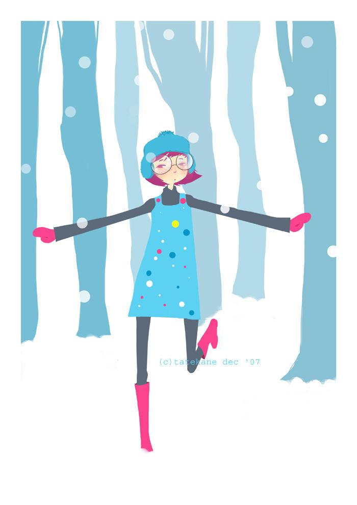 Blue Forest by tatekane