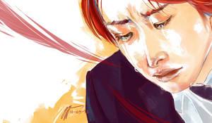 Naruse-crying by tatekane