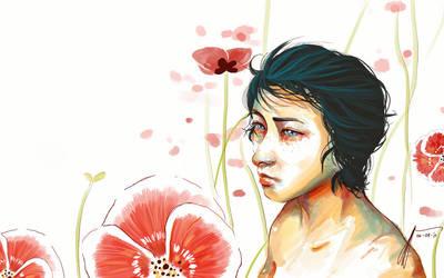 O-flowers by tatekane