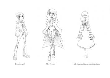 character design projet co by Svanhilde
