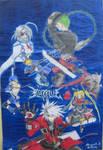 blazblue poster by eljedialex