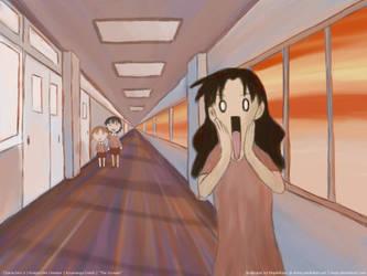 Azumanga: The Scream by MapleRose
