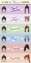 A Guide to Ace Attorney Assistants by MapleRose