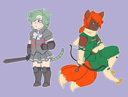 Fantasy Adopts [closed] by cottoncandydeer
