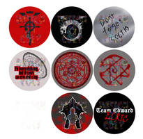 Buttons: FMA 1 by Colt-kun