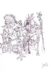 Drakkari Kill-Team by Greyall