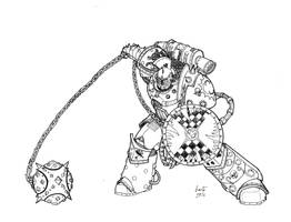 World Eaters - Delvarus of the Triarii by Greyall