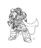 Ultramarines Praetor by Greyall