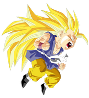 kid_goku_gt_ssj3 by el-maky-z