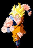 Goku Super Saiyan by el-maky-z