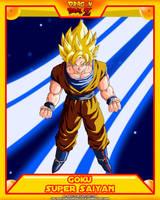 DBZ-Goku SSJ V2 by el-maky-z