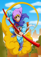 Dragon Ball - Goku by el-maky-z