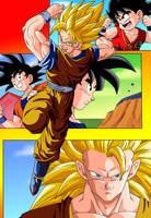 Dragon Ball: Goku by el-maky-z