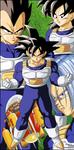 Dragon Ball Z - Saiyans by el-maky-z