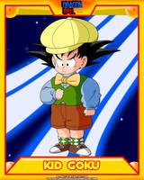 DB-Kid Goku V5 by el-maky-z