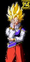 Goku Super Saiyan (Yardrat Clothes) by el-maky-z
