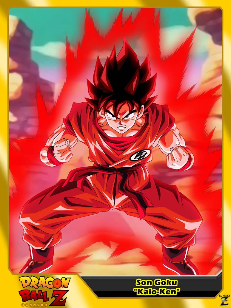 Dragon Ball Z Son Goku Kaio Ken By El Maky Z On Deviantart