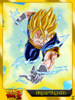 (Dragon Ball Z) Super Vegetto by el-maky-z