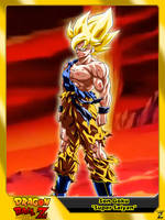 (Dragon Ball Z) Son Goku 'Super Saiyan' by el-maky-z
